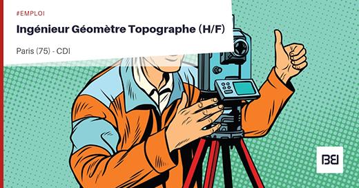 INGÉNIEUR GÉOMÈTRE TOPOGRAPHE
