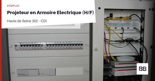 PROJETEUR EN ARMOIRE ELECTRIQUE