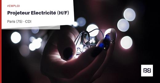 PROJETEUR ELECTRICITÉ