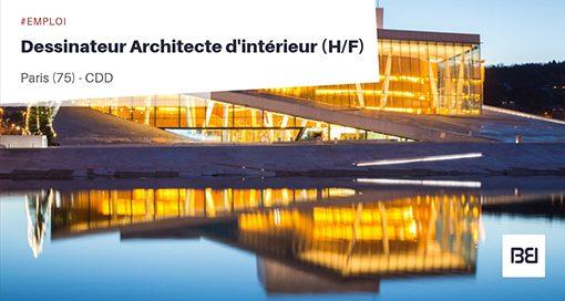 DESSINATEUR ARCHITECTE D'INTÉRIEUR