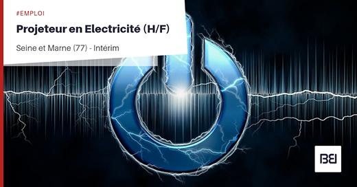 PROJETEUR EN ELECTRICITÉ