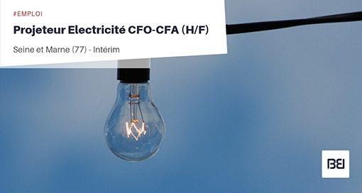PROJETEUR ELECTRICITÉ CFO-CFA