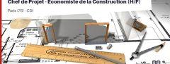 CHEF DE PROJET - ÉCONOMISTE DE LA CONSTRUCTION