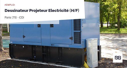 DESSINATEUR PROJETEUR ELECTRICITÉ
