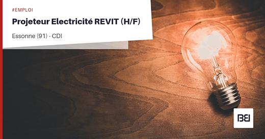 PROJETEUR ELECTRICITÉ REVIT
