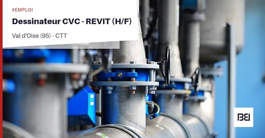 DESSINATEUR CVC - REVIT