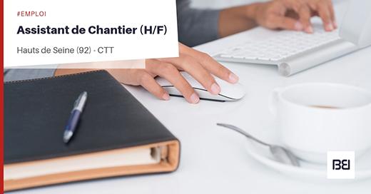 ASSISTANT DE CHANTIER