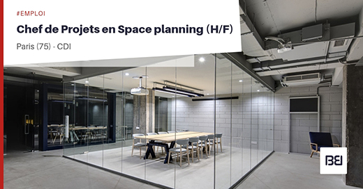CHEF DE PROJETS EN SPACE PLANNING
