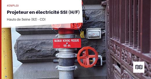 PROJETEUR EN ÉLECTRICITÉ (SSI)