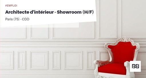 ARCHITECTE D'INTÉRIEUR - SHOWROOM