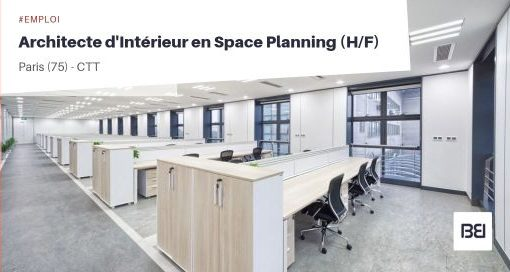 ARCHITECTE D'INTÉRIEUR EN SPACE PLANNING