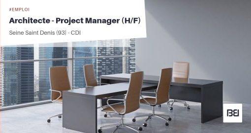 ARCHITECTE - PROJECT MANAGER