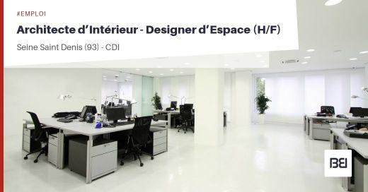 ARCHITECTE D'INTÉRIEUR - DESIGNER D'ESPACE