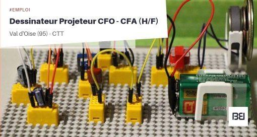 DESSINATEUR PROJETEUR CFO - CFA