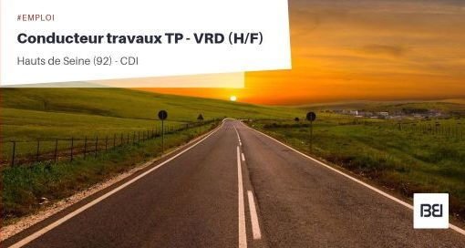 CONDUCTEUR TRAVAUX TP - VRD