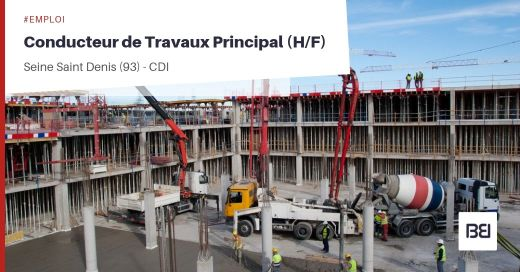 CONDUCTEUR DE TRAVAUX PRINCIPAL