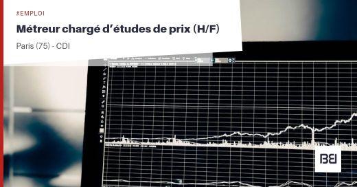 MÉTREUR CHARGÉ D'ÉTUDES DE PRIX