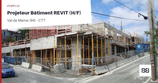 PROJETEUR BATIMENT REVIT