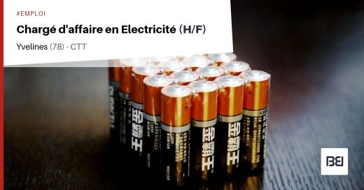 CHARGÉ D'AFFAIRE EN ELECTRICITÉ