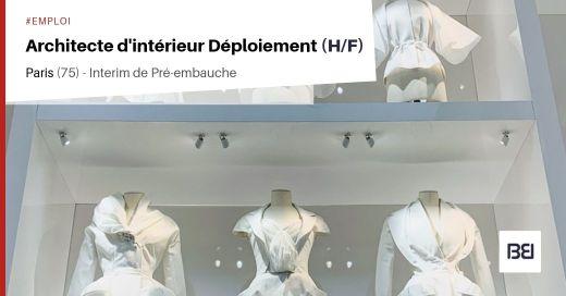 ARCHITECTE D'INTÉRIEUR DÉPLOIEMENT