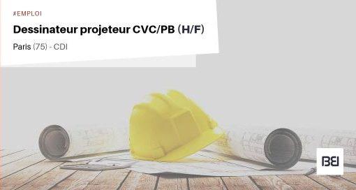DESSINATEUR PROJETEUR CVC/PB