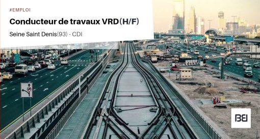 CONDUCTEUR DE TRAVAUX VRD