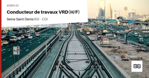 CONDUCTEUR DE TRAVAUX VRD
