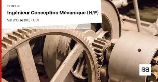 INGÉNIEUR CONCEPTION MÉCANIQUE