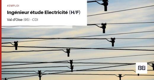 INGÉNIEUR ÉTUDE ELECTRICITÉ