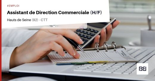ASSISTANT DE DIRECTION COMMERCIALE