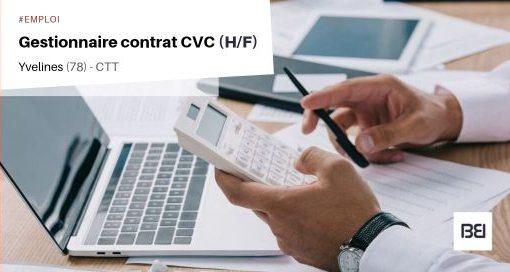 GESTIONNAIRE CONTRAT CVC