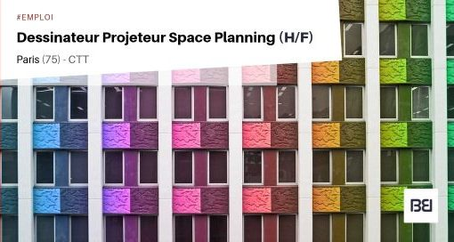 DESSINATEUR PROJETEUR SPACE PLANNING