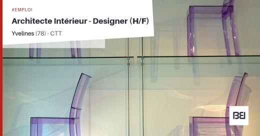 ARCHITECTE INTÉRIEUR - DESIGNER