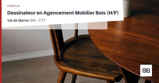 DESSINATEUR EN AGENCEMENT MOBILIER BOIS