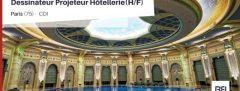 DESSINATEUR PROJETEUR HOTELLERIE