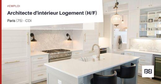 ARCHITECTE D'INTÉRIEUR LOGEMENT