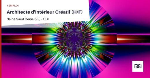 ARCHITECTE D'INTÉRIEUR CRÉATIF