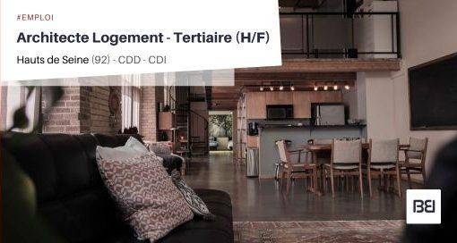 ARCHITECTE LOGEMENT - TERTIAIRE