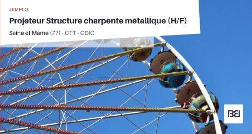 PROJETEUR STRUCTURE CHARPENTE MÉTALLIQUE