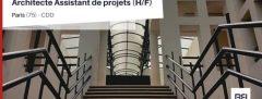 ARCHITECTE ASSISTANT DE PROJETS