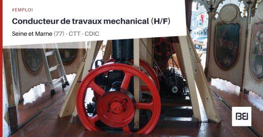 CONDUCTEUR DE TRAVAUX MECHANICAL