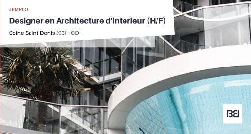 DESIGNER EN ARCHITECTURE D'INTÉRIEUR