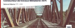 CONDUCTEUR DE TRAVAUX METALLERIE