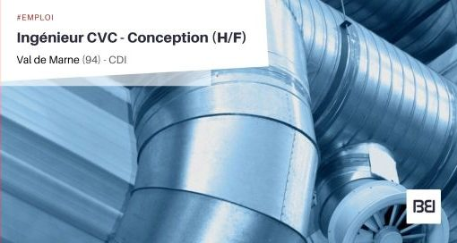 INGÉNIEUR CVC - CONCEPTION
