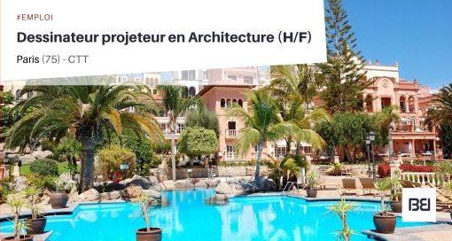 DESSINATEUR PROJETEUR EN ARCHITECTURE