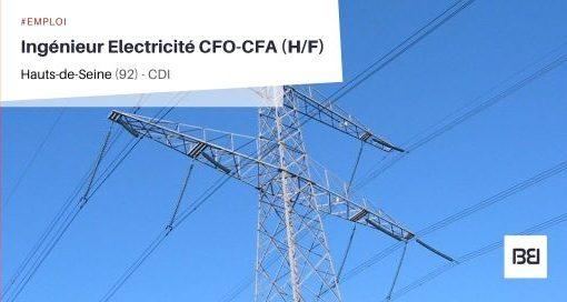 INGÉNIEUR ELECTRICITÉ CFO-CFA