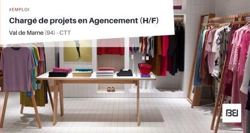 CHARGÉ DE PROJETS EN AGENCEMENT
