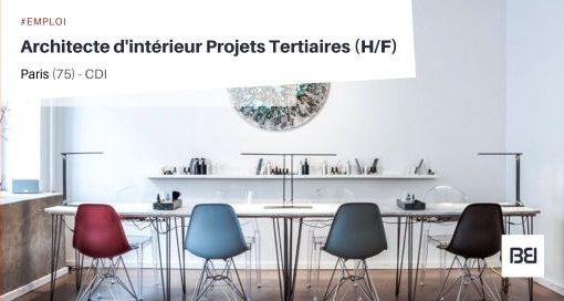ARCHITECTE D'INTÉRIEUR PROJETS TERTIAIRES