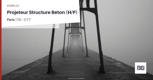 PROJETEUR STRUCTURE BETON