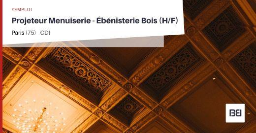PROJETEUR MENUISERIE - EBÉNISTERIE BOIS